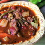 Autumn Vegetable Beef Soup Recipe