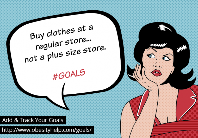 buy clothes at a regular store