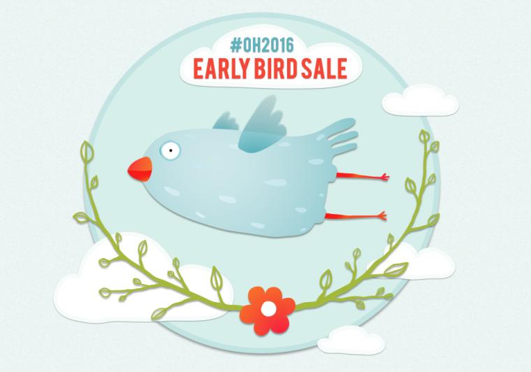 oh2016 early bird sale
