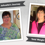 Before & After DS with Johnetta's 175 Pound Weight Loss!