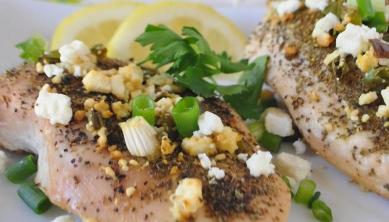 Lemon Feta Chicken Recipe