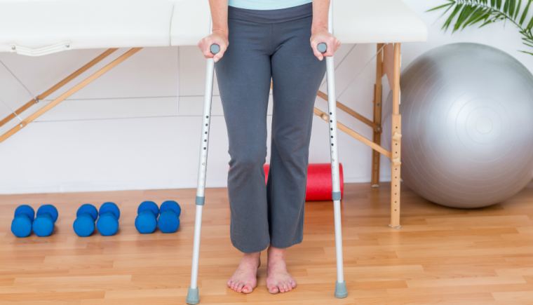 Limited Mobility, Exercise on Crutches