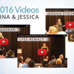 OH2016 Videos: Lyss Remaly, Tina Rambarran & Jessica Stockton