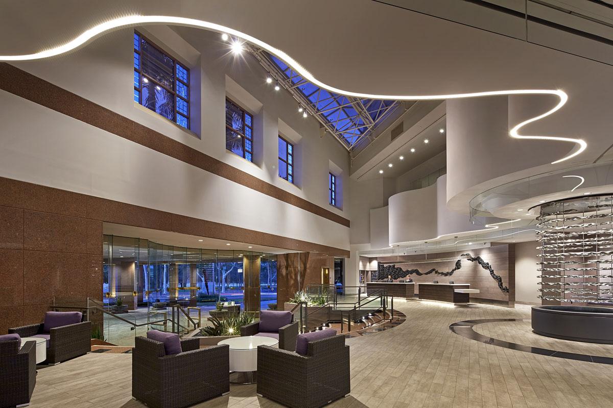 Hotel Accommodations atrium