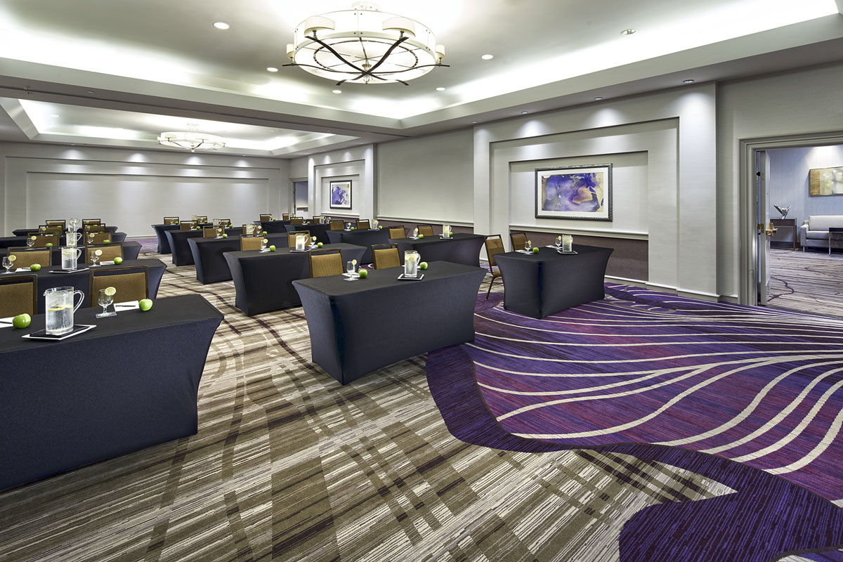 hotel accommodations classroom
