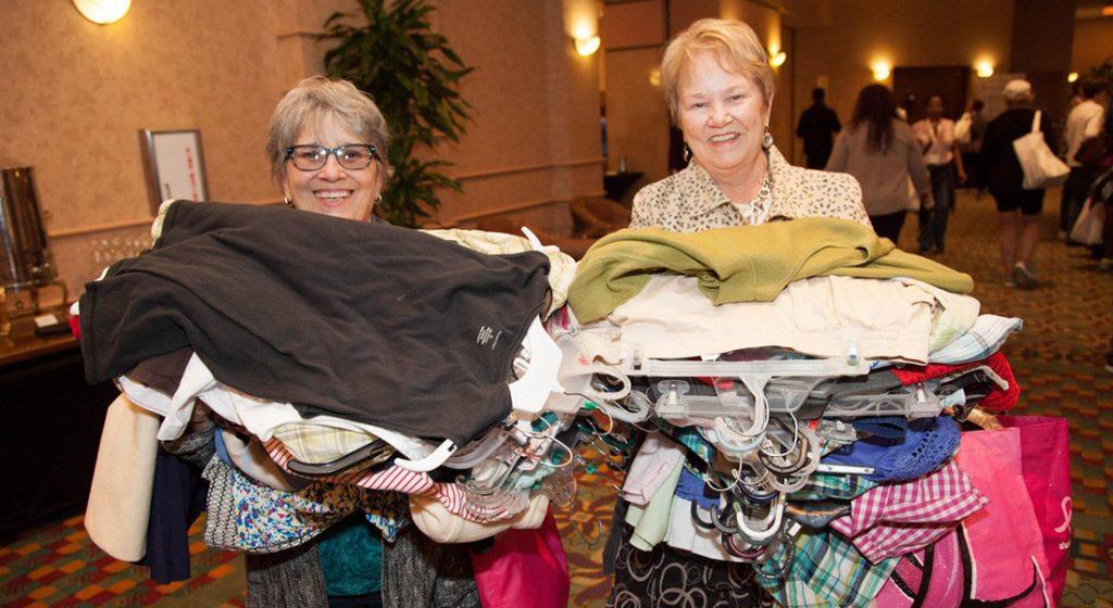 Clothing Exchange members