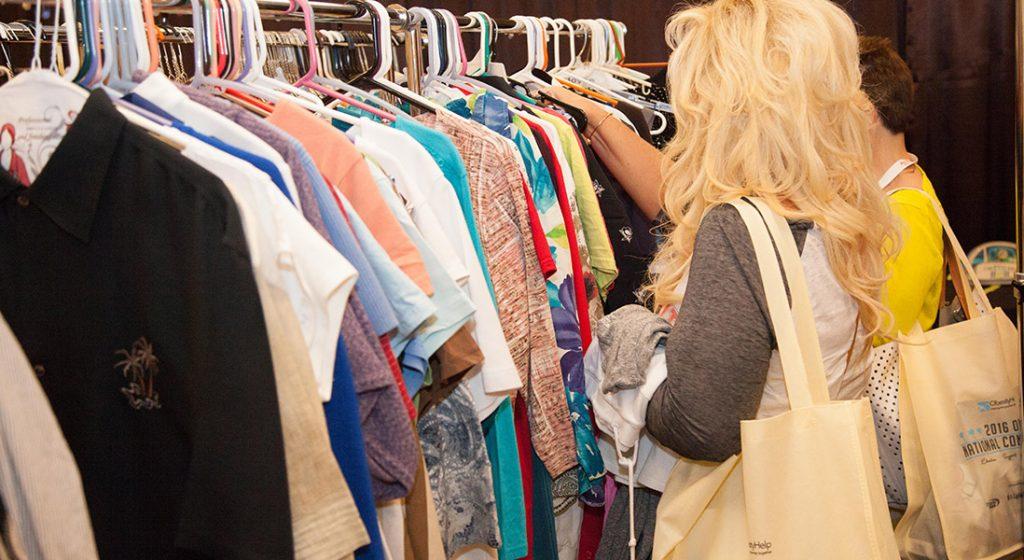 Clothing Exchange browsing