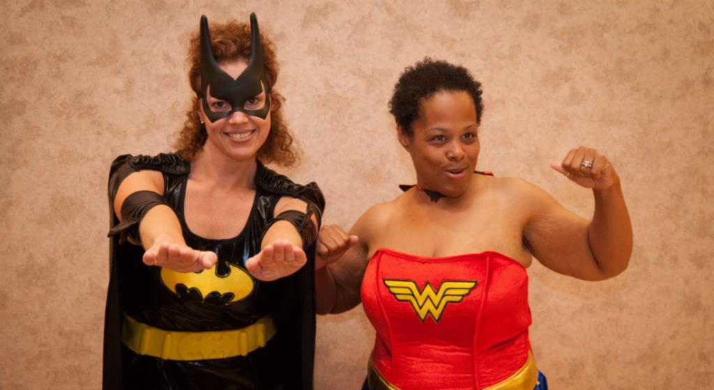 costume party super heroine