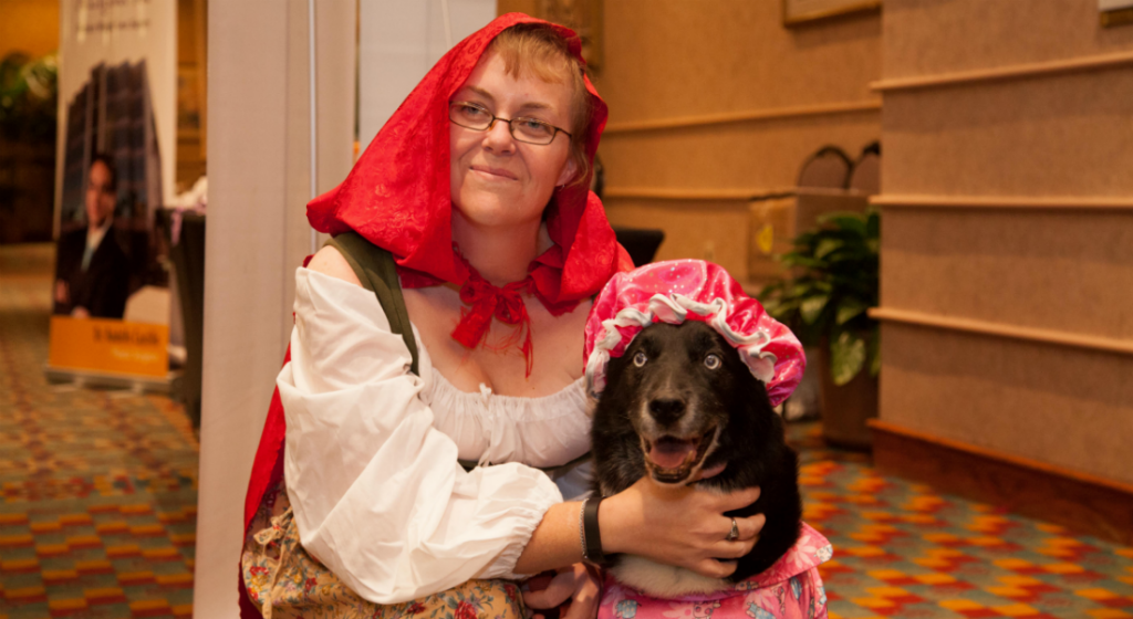 Costume Party Little Red Riding Hood