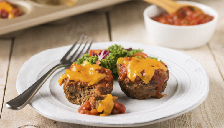 muffin tin meatloaves recipe