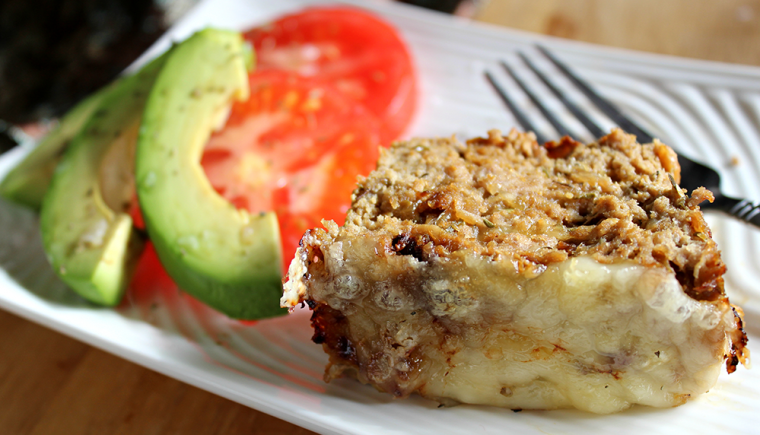 french onion turkey meatloaf