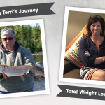 Before & After VSG with Terri, losing 120 pounds!