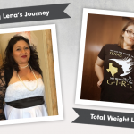 Before and After RNY Gastric Bypass With Lena, losing 68 pounds!