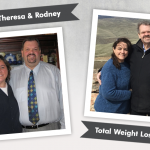 Before & After DS with Theresa and Rodney, losing 385 pounds!