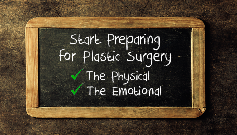 prepare for plastic surgery