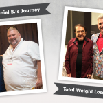 Before & After RNY with Daniel B., losing 240 lbs!